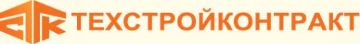 Логотип компании Техстройконтракт официальный дистрибьютор Hyundai Shantui