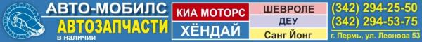 Логотип компании Авто-Мобилс магазин корейских автозапчастей для автомобилей Kia