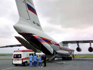 Логотип компании Санитарная авиация